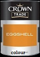 Crown trade Eggshell Colours