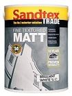Sandtex Trade Fine Texture Matt Brilliant White