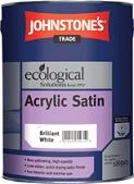 Johnstones Acrylic Satin B/White