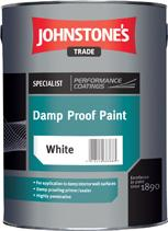 Johnstones Damp Proof Paint White