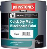 Johnstones Quick Dry Matt Blackboard Paint