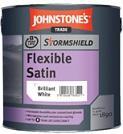Johnstones Stormshield Flexible Satin B/White