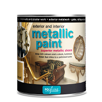 Polyvine Exterior / Interior Metallic paint