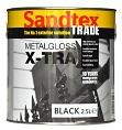 Sandtex Trade Metal Gloss Black