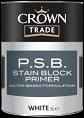 crown trade p.s.b. stain block primer white