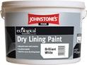 Johnstones Dry Lining Paint B/White