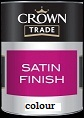 Crown Trade Satin Finish Colours