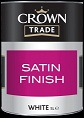 Crown Trade Satin Finish White