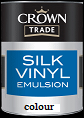 Crown Trade Silk Vinyl  Colours