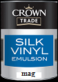 crown trade silk vinyl magnolia