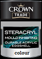 crown trade steracryl m/ inhibit a/eggshell clours