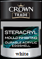 crown trade steracryl m/ inhibit a/eggshell white