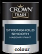 crown trade stronghold smooth masonry colour