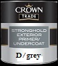 crown trade Stronghold Exterior Primer U/c  colour