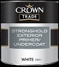 crown trade Stronghold Exterior Primer U/c  white