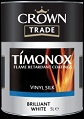 Crown Timonox Vinyl Silk  B/White