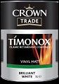 Crown Timonox Vinyl Matt  B/White