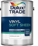 Dulux Trade V/Soft Sheen P B W & Mag