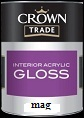 Crown Trade Interior Acrylic Gloss Magnolia