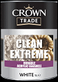 Crown Trade Clean Ex/ Dur Acrylic Eggshell white