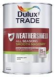 Dulux Trade W-shield All Seasons Masonry P/B/W