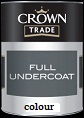 Crown Trade Full Undercoat Colours