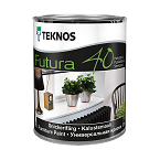 Teknos Futura 40 Semigloss furniture paint