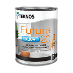 Teknos Aqua 20 Semi-matt furniture paint