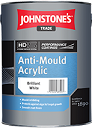 Johnstone's Anti Mould Acrylic B/White