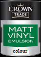 Crown Trade Vinyl Matt Colours
