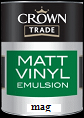 crown trade vinyl matt Magnolia