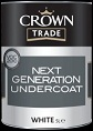 Crown Trade Next Generation Undercoat  White