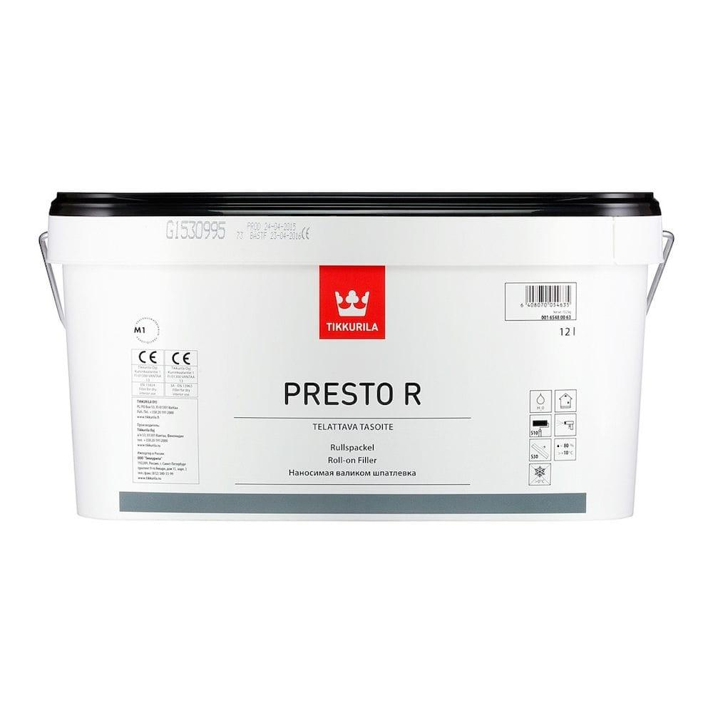 Tikkurila presto R roll on filler