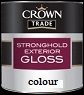 crown trade stronghold exterior gloss colour