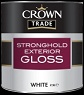 crown trade stronghold exterior gloss white