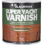 Blackfriar Super Yacht Varnish