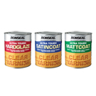 Ronseal Ultra Tough Varnish Clear Satin