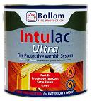Bollom fire protection intulac ultra topcoat clear satin