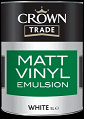 crown trade vinyl matt White